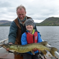 and another happy angler in the making