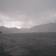 Meanwhile ..on Derwentwater....winter returns