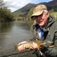 Another one the dry fly for Lister Fielding
