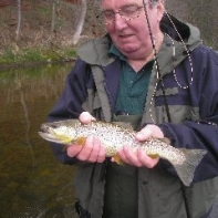 Mike Marshal and a lovely early season Brownie